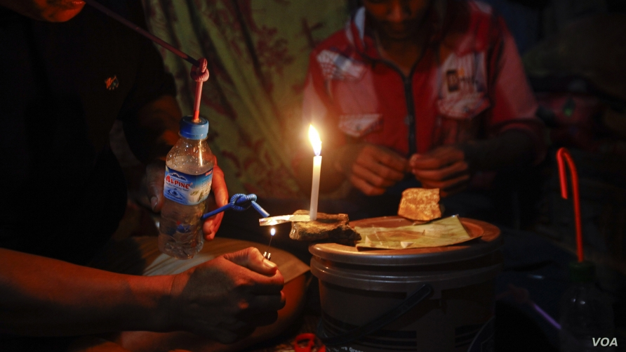Drug Addiction Rises in Myanmar's Kachin State