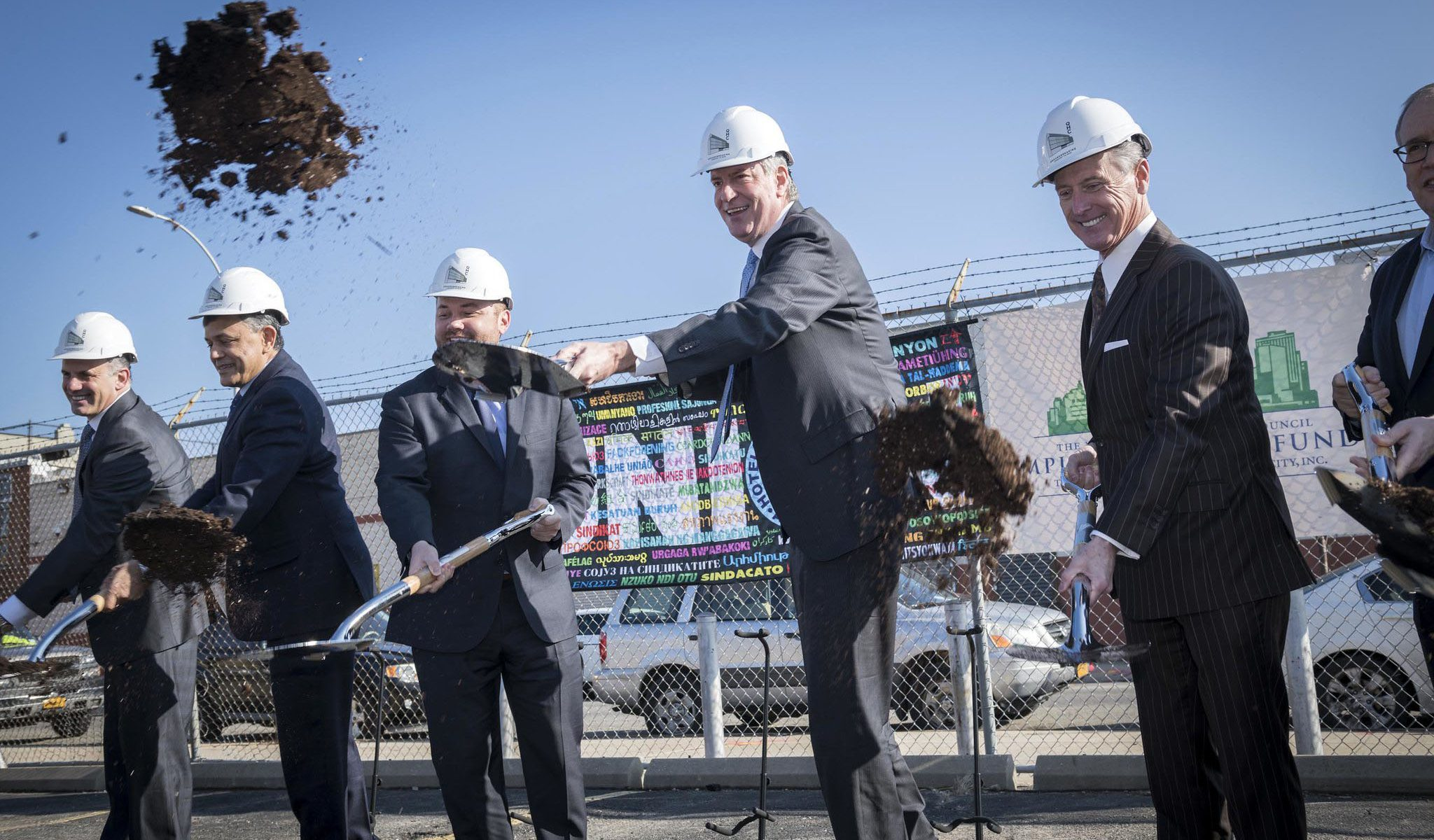 New York Hotel Trades Council, Hotel Association of NYC break ground on new Queens Health Care Center