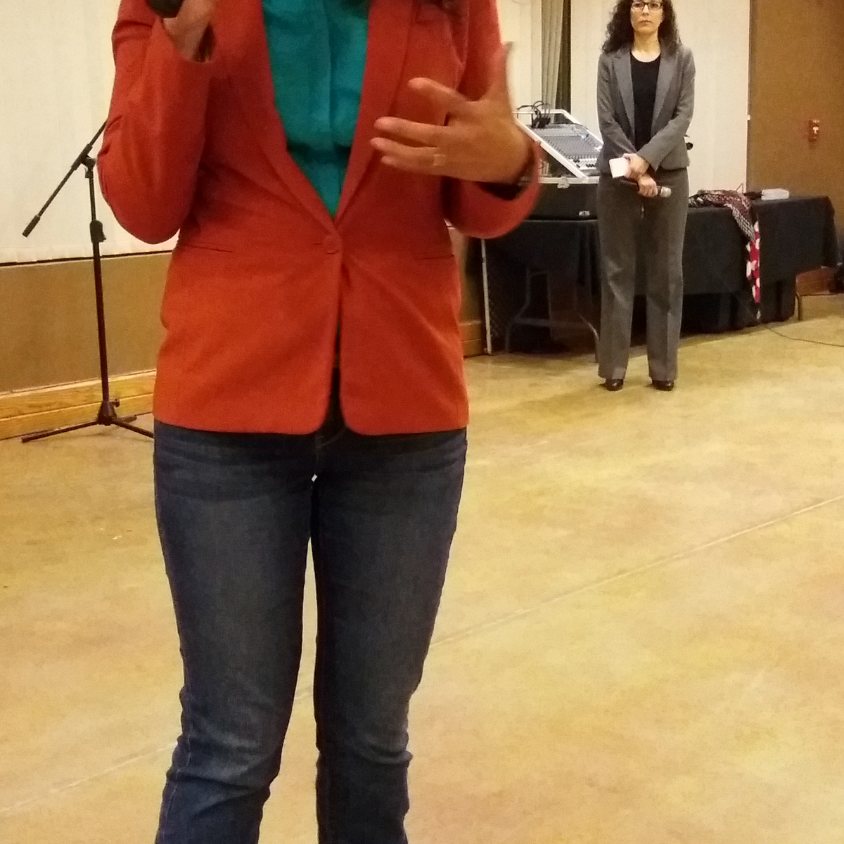Rep. Xochitl Torres Small Talks Border, Trade and More at Las Cruces Town Hall