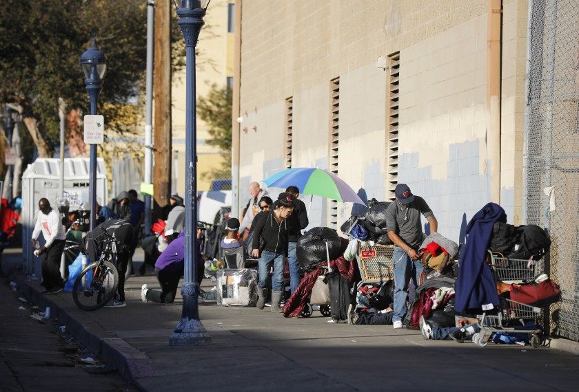 Column: Pressure grows to crack down on homeless to protect public 'quality of life'
