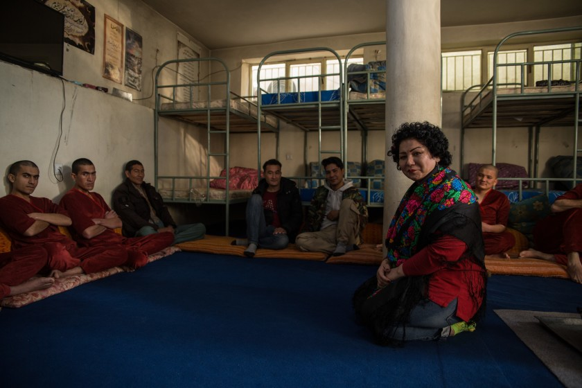 Afghan heroin addicts meet brave woman in 'Mother Camp' rehab